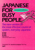 Japanese for Busy People III Revised Edition Cover