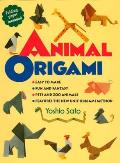 Animal Origami Cover