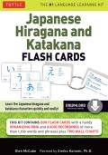 Japanese Hiragana and Katakana Flash Cards [With CD (Audio)]