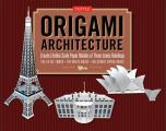 Origami Architecture Kit Create Lifelike Scale Paper Models Of Three Iconic Buildings