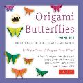 Origami Butterflies Mini Kit: Fold Up a Flutter of Gorgeous Paper Wings! [With DVD and Origami Paper]