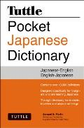Tuttle Pocket Japanese Dictionary...