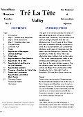 Tre La Tete Valley climbing guide - Mont Blanc