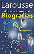 Larousse diccionario esencial Biografias
