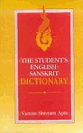 Student's English-Sanskrit Dictionary