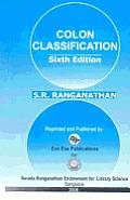 Colon Classification - Basic Classification (6th edition)