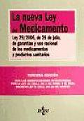 La Nueva Ley Del Medicamento / the New Drug Law