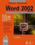 Microsoft Word 2002 Office XP - Manual Avanzado