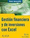 Gestion Financiera Y De Inversiones Con Excel / Manage Your Money and Investments with Microsoft Excel