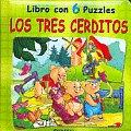 Tres Cerditos, Los - Libro Con 6 Puzzles