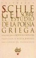 Sobre El Estudio de La Poesia Griega