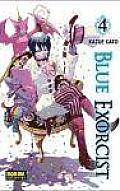 Blue Exorcist 4 Cover