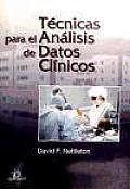 Tecnicas Para El Analisis de Datos Clinicos
