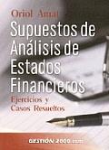 Suspuestos de Analisis de Estados Financieros