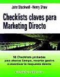 Checklist Clave Para Marketing Directo