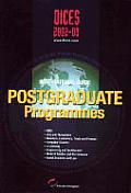 Dices 2002-03. Internacional Guide Postgraduate Programmes