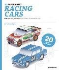 3D Paper Craft Racing Cars: Make Your Own Paper Toys/Crea Da Solo Le Tue Automobili Da Corsa
