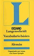 Vocabulario Basico Aleman - Langenscheidt