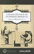 Lexico Tecnico de Filosofia Medieval