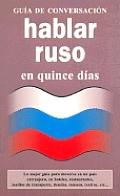 Hablar Ruso En Quince Dias