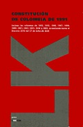 Constitucion de Colombia: Constitucion Politica de la Republica de Columbia de 1991