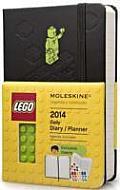 Moleskine 2014 Limited Edition Planner 12 Month Lego Daily Pocket Black Hard Cover
