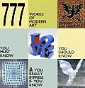 777 Works of Modern Art Cover