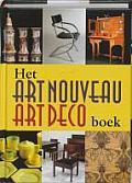 Het art nouveau, art deco boek