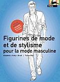 Figurines de Mode Et de Stylisme Pour la Mode Masculine