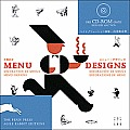 Menu Designs With Cd Rom