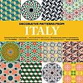Decorative Patterns from Italy + CD ROM (Agile Rabbit Editions) Cover
