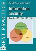 Information Security Based on ISO 27001/ISO 27002: A Management Guide
