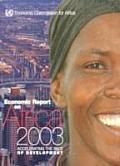 Economic report on Africa 2003