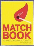 Matchbook Indian Match Box Labels