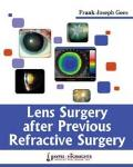 Lens Surgery After Previous Refractive Surgery