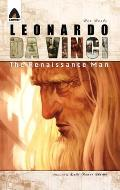 Leonardo DaVinci: The Renaissance Man (Campfire Graphic Novels) Cover