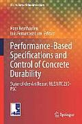 Rilem State-Of-The-Art Reports #18: Performance-Based Specifications and Control of Concrete Durability: State-Of-The-Art Report Rilem Tc 230-Psc