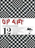 Op Art Gift Wrapping Paper Book, Volume 4