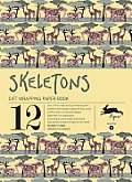 Skeletons Wrapping Paper Book Volume 14 Pepin Press