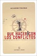 Que Hacer Con Los Conflictos