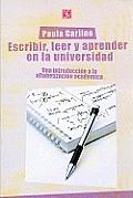 Escribir, Leer y Escribir En La Universidad