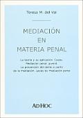 Mediacion En Materia Penal