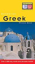 Greek (Periplus Essential Phrase Books)