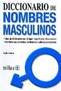 Diccionario De Nombres Masculinos/ Dictionary of Boys Names