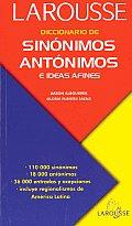 Diccionario de Sinonimos Antonimos E Ideas Afines Dictionary of Synonyms of Antonyms