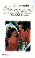 Prontuario Matrimonial/ Wedding Handbook