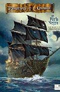 Disney Piratas Del Caribe, El Perla Negra/ Disney Pirates of the Caribbean, the Black Pearl
