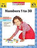 Scholastic Study Smart: Numbers 1 to 30 (Scholastic Study Smart)