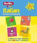Italian Picture Dictionary (Berlitz Picture Dictionaries)
