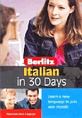 Berlitz Italian in 30 Days 1ST Edition